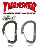 スラッシャー カラビナ 【THRASHER】【スケーター】