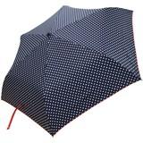 ≪NEW ARRIVAL≫ 【超撥水生地使用】折傘55cm  ドット柄