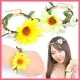 BRN0926-0927の花ブレスレット