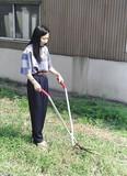 【直送可】【送料無料】立作業用 芝生雑草刈込バサミ 日本製