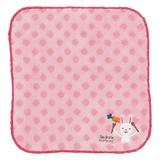 ベリータムタム ハンドタオル ウサギ (お子さんのポケットに入れやすい小さめのタオルです)