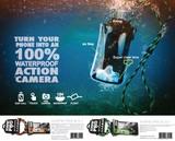 『Surfie Pro』スマホ用 防水ケース付 ネックストラップ