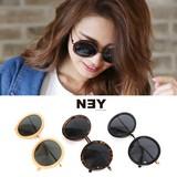 ◆ラウンド型サングラス/丸メガネ/雑貨/小物/眼鏡◆423085