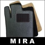 ダイハツ ミラ/DAIHATSU MIRA用 フロアマット カーマット (純正品同等クラス) 黒
