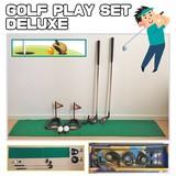 【スポーツ/ゴルフ】GOLF PLAY SET DELUXE/運動/練習/アイアン/パーター