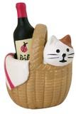 子猫とワイン