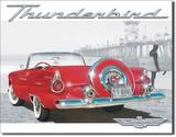 ブリキ看板 Thunderbird #1271