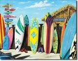 ブリキ看板 Surfboard #1318
