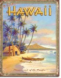 ブリキ看板 HAWAII 1 #1987
