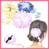 HC0112-0114お花のヘアクリップ