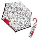 新柄入荷!スヌーピー 折畳傘 「スヌーピーパターン」!大人気おりたたみ傘です!