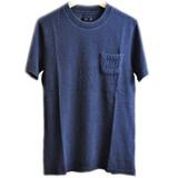 【SALE】【TESS】インディゴクルーネックTシャツ