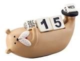 万年カレンダー ブル【ブルドッグ】【犬】