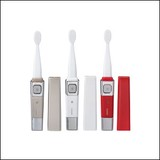 TWINBIRD(ツインバード) 音波振動式USB充電歯ブラシ ACアダプター付 BD-2757G/BD-2757PW/BD-2757R