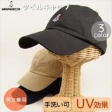 【WEATHERCOCK】ツイルキャップ<4color・UV対策・男女兼用・手洗い可・サイズ調節可>