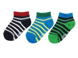 Kids socks  baja smile 2col  border ankle 通園通学に最適(ソックス)