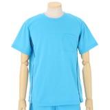 【16夏物入荷】さらっと快適 ブリスターTシャツセットアップ 2種類のライン