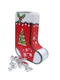 ★先行受注・クリスマス2017★【 チャーチル 】クリスマスストッキング缶・赤