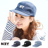◆[NY]ロゴワッペン付きキャップ帽/帽子/ベースボールキャップ/雑貨/小物◆423082