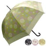 ★2016【春夏新作】ジャンプ傘★雨晴兼用 アジサイ柄ジャンプ傘♪【UV対策】99%カット♪
