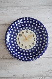 Poland Plates & Utensil Round Clock