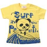 【16夏新作】【GARACH】Surfパンダ半袖Tシャツ