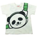 【16夏新作】【GARACH】パンダショルダーバッグ柄半袖Tシャツ