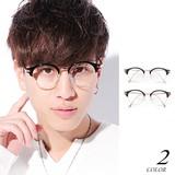Excellent カジュアル メンズ メガネ サングラス ハーフリムメガネNO1 620450
