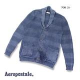 【即納】【Aeropostale】 ストーンウォッシュショールカーディガン