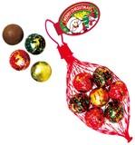 【クリスマス先行商品】【神戸倉庫】XMカラーボールチョコネット