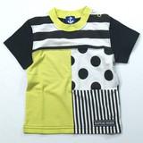 【16夏新作】【Bateau Blue】前身切替半袖Tシャツ