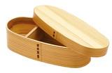 【ナチュラルキッチン】 <木製> スリムわっぱ弁当箱