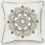 Cushion Cover Embroidery Scandinavian Style Embroidery Cushion Cover