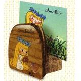 【特価】【アマールカ】木製カードスタンド(アマールカ&ヒワ)