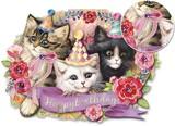PUNCH STUDIO  グリーティングカード スモールサイズ 猫 バースデー