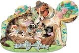 PUNCH STUDIO  グリーティングカード スモールサイズ 犬×猫