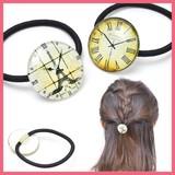 時計の文字盤ヘアゴム