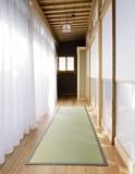 【直送可】【送料無料】い草廊下敷・ヒバエッセンス加工<日本製>