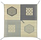 【直送可】国産(日本製)伝統柄い草座布団
