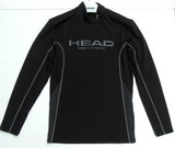 メンズ HEAD ヘッド ストレッチアンダー長袖ハイネックシャツ(大きいサイズ有り)