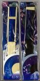 【和柄・布張り扇子です】粋扇子21cm 桔梗・菖蒲