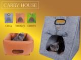 ☆DOG&CAT CARRY HOUSE☆猫ちゃんはもちろん、小型のわんちゃんやその他の小動物も利用可能☆
