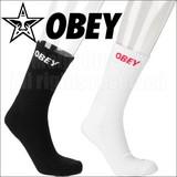 【決算SALE】OBEY 【オベイ】 CITY ソックス (靴下) 全2色