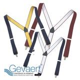 【GEVAERT】■サスペンダー■35mmY型ピンドット★ベルギーの老舗ゲバルト社★日本製