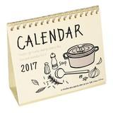 イラスト卓上カレンダー