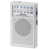 【信頼のOHMブランド】AM/FMポケットラジオ ワイドFM対応!