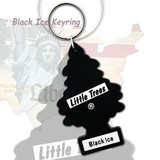 Little Trees ブラックアイス  ラバーキーホルダー