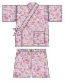 【サンリオ】浴衣3点セット・甚平(子供用)