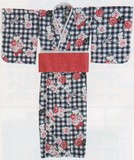 【サンリオ】婦人大人浴衣(3点セット)