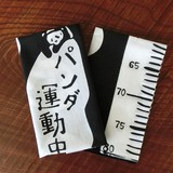 Thusen Hand Towel Panda Bear Gift Sori-Fabric Animal Mono Tone